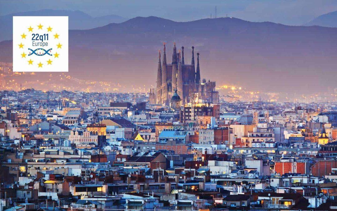 La Federazione 22q11 Europe a convegno a Barcellona