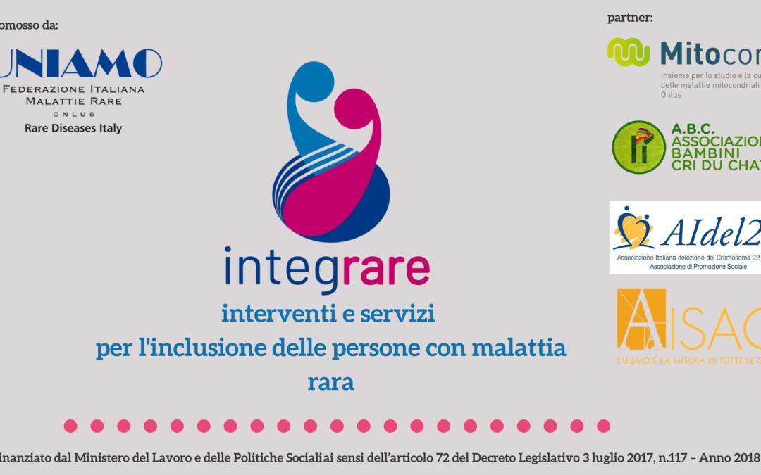 IntegRARE: SUPPORTO PSICOLOGICO AI FAMILIARI