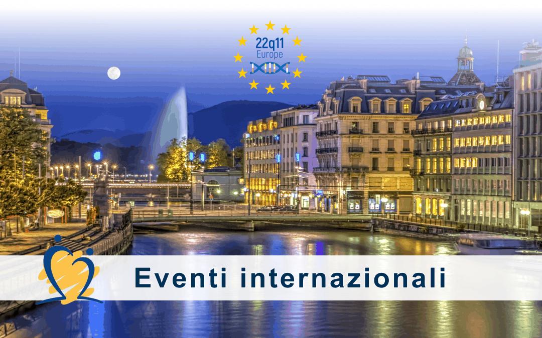 A Ginevra l'incontro dei rappresentanti delle associazioni europee federate in 22q11 Europe