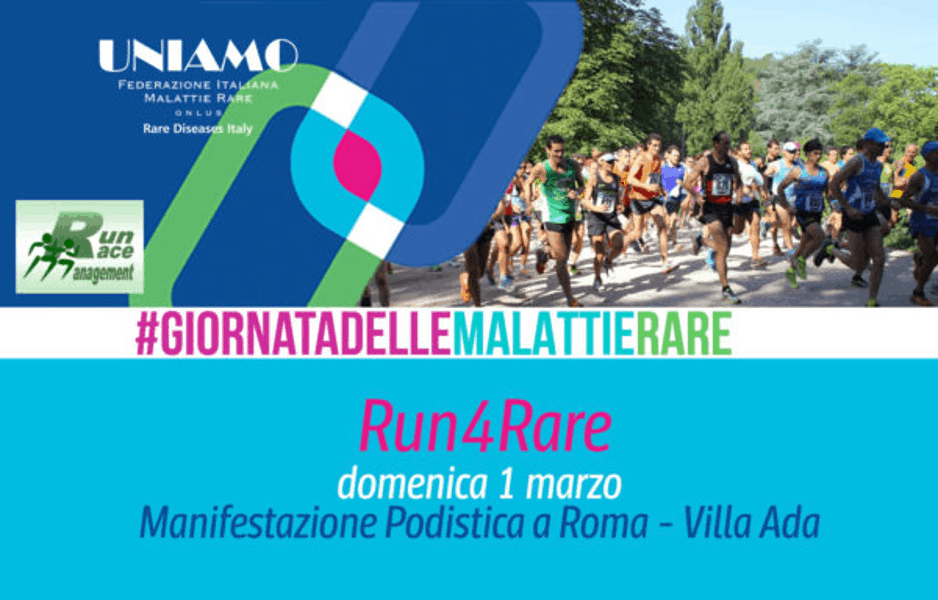 Run4Rare – gara podistica e camminata a Villa Ada – Roma